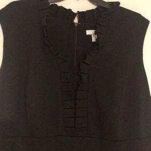 Charter Club Black Sleeveless Sheath Dress 18 W